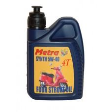 Olie 5W40 volsynthetisch Metrakit 1 Liter (Piaggio)