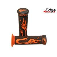 Handvatset Flame zwart/oranje