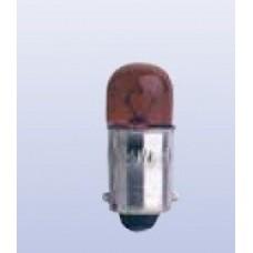 Lamp 12 V - 4 W BA9S rood