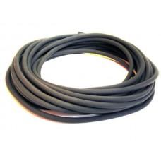 Benzineslang 4*7 rubber  per meter (vacuum)