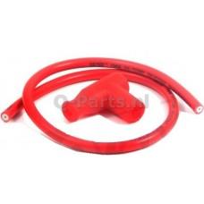 Bougiedop + kabel rood