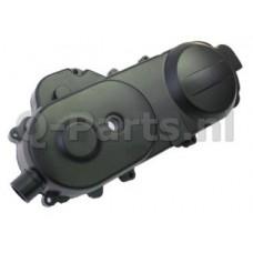 Carterdeksel China/GY6 10 inch Zwart met aansluiting toerenbegrenzer