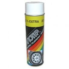 Spuitbus Wheelspray wit 500 ML Motip 4003
