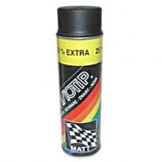 Spuitbus zwart mat 500 ML Motip 4006