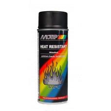 Spuitbus hittebestendig zwart 400 ml Motip 4031