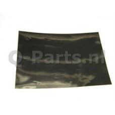 "Stickervel ""carbon""25*35 cm"