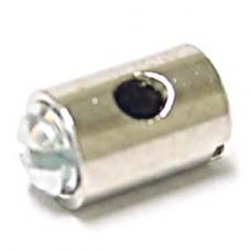 Schroefnippel 5.5 x 5.5 (gas)