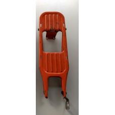 """Achterdrager Vespa Ciao oldtimer 17"""" oranje (gebruikt)"""