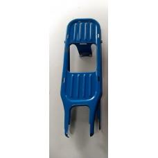 """Achterdrager Vespa Ciao oldtimer 17"""" blauw (gebruikt)"""