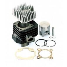 Cilinder Minarelli Horiz. AC 70 cc Top Perf.incl. cil. kop