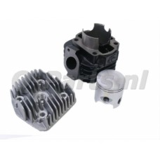 Cilinder Minarelli Horiz. AC 70 cc DR inclusief cilinderkop