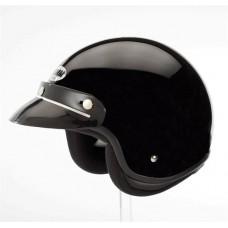 Helm Demm Police Zwart glans small