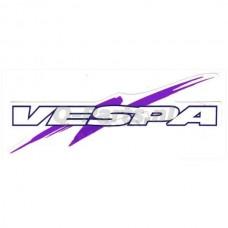 Stickerset Vespa 3 delig lila