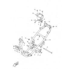 Bout subframe Yamaha Aerox/Neos/Jog/Why