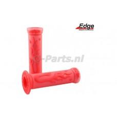 Handvatset Flame rood/transparant Edge