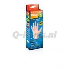 Werkhandschoen wegwerp Vinyl XL 20 stuks