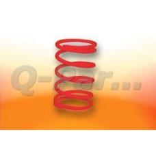 Koppelingsdrukveer Peugeot/Honda/GY6 rood Malossi