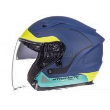 Helm MT Avenue Crossroad blauw-groen medium57-58