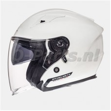 Helm MT Avenue SV wit medium57-58met zonnevizier