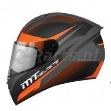 Helm MT Stinger Divided oranje large59-60