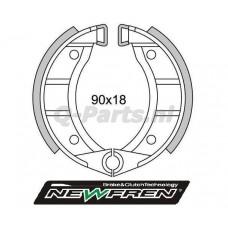 Remsegment Vespa-Piaggio Ciao/SI spaakwiel voor Newfren GF0151