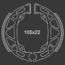Remsegment Vespa Ciao/Si Mix voor Newfren