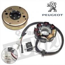 Ontsteking + vliegwiel Peugeot Kisbee/Django Origineel