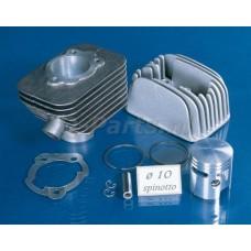 Cilinder Vespa Ciao 80 cc Polini 46 -10  incl. cilinderkop