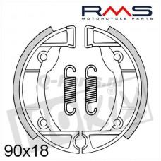 Remsegment Vespa-Piaggio Ciao/SI spaakwiel voor RMS