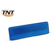 Framenummerplaatje Yamaha Aerox blauw TNT