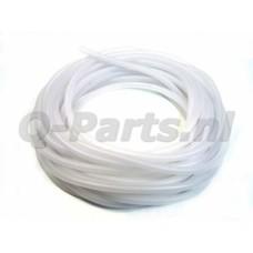 Benzineslang 5*8 PVC transparant per meter