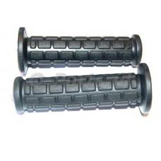 """Handvatset  """"blok"""" zwart 125 mm"""