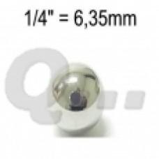 Kogel 1/4 (6.35 mm)  Wiel Vespa bromfiets