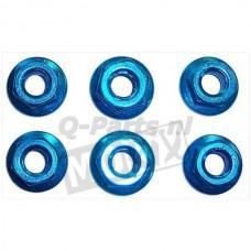 Moerset M6 blauw 6 stuks