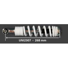 Schokbreker universeel MKX sport 268 mm wit