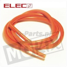 Bougiekabel 7 mm per meter oranje