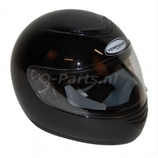 Helm Tornado T2 zwart metallic Large