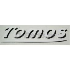 Sticker Tomos wit
