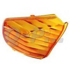 RAW glas V-clic/Rex/Baotian links achter oranje