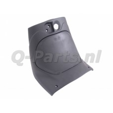Beenschild + deksel Zip 2000/SP 2000 zwart