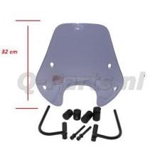 Windscherm Zip 2000 laagsmoke origineel model