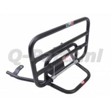 Achterdrager Piaggio Zip 2000/4T zwart mat klapbaar