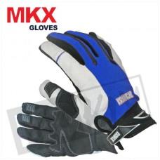 Handschoenen Cross MKX blauw Large(maat 10)