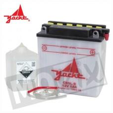 Accu YB5L-B (12N5-3B) Neos/Aerox 4 Takt + zuurpack