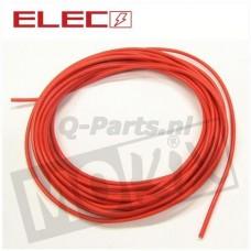 Lichtsnoer rood 0.5 mm² 5 meter