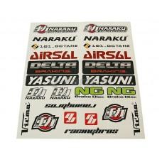 Stickerset Naraku 29*34 22 delig