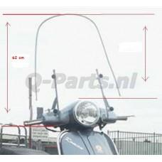 "Windscherm China ""Classic LX"" hoog 62 cm  o.a.Turbho RL50"