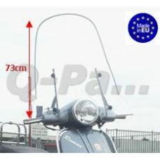 "Windscherm China ""Classic LX"" hoog 73 cm o.a.Turbho RL50"