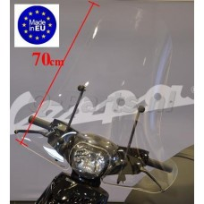 Windscherm Piaggio Zip 2000-> hoog (made in EU)
