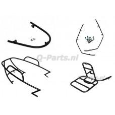 Sierbeugelset + drager China LX/AGM VX50(S) mat zwart